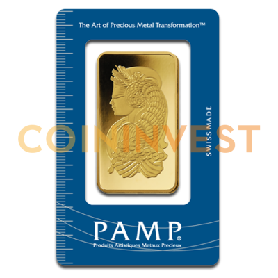 100g Gold Bar Fortuna | PAMP Suisse