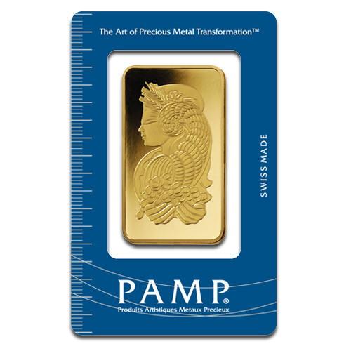 100g Goldbarren | PAMP Fortuna