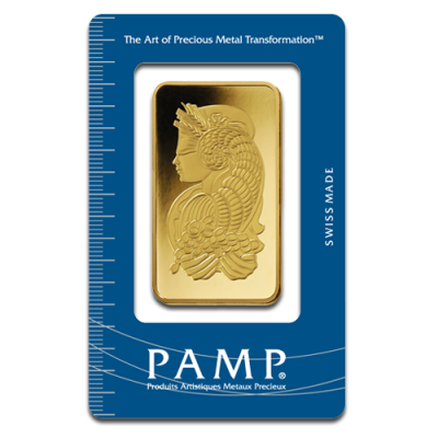 100g Gold Bar | PAMP Fortuna