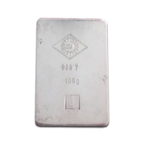 100g Silver Bullion | Ögussa | Historic | Circulated | Historic