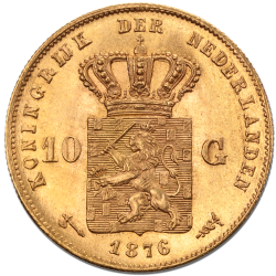 Dutch Guilder Gold Coin