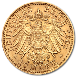 German Empire Gold Mark Coins