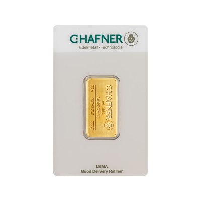 10g Gold Bar | C.Hafner