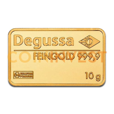 10g Gold Bar | Degussa