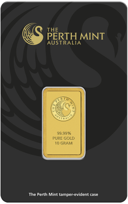 10g Gold Bar | Perth Mint | with Certificate