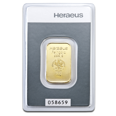 10g Gold Bar | Heraeus