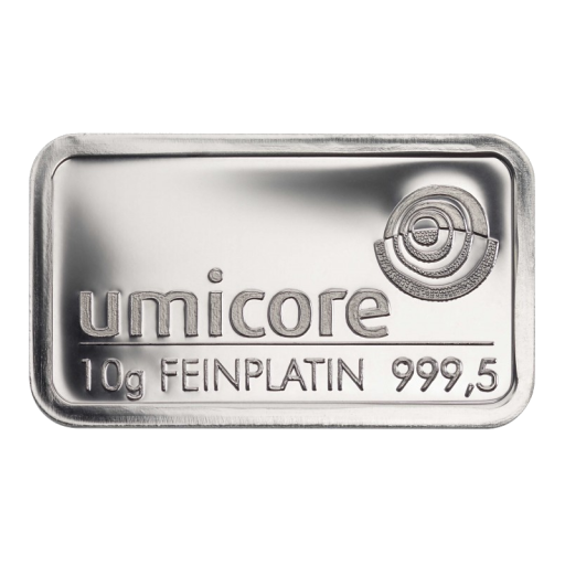 10g Platinum Bar | different manufacturers