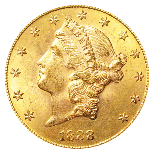 "15.04g Eagle ""Coronet Head"" 