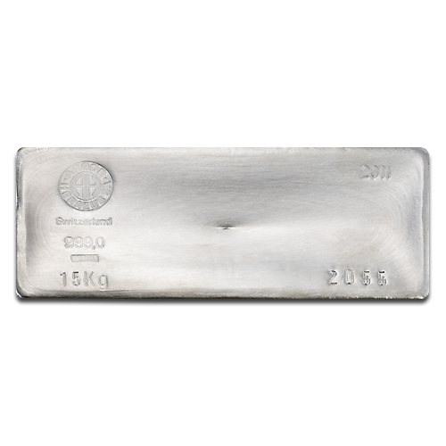 15 Kilo Silver Bar | different manufacturers