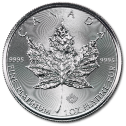 Maple Leaf Platinmünzen