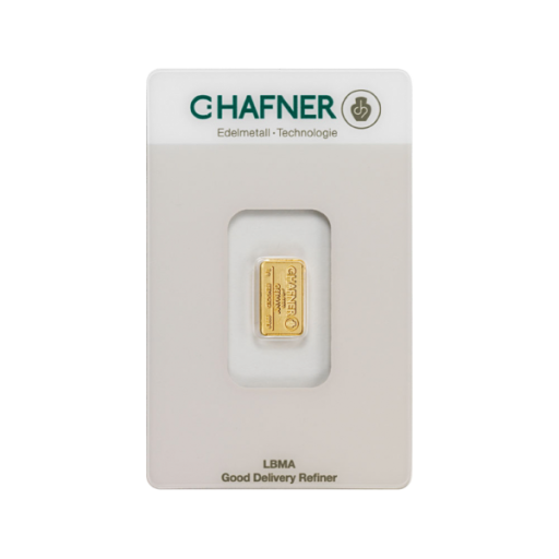 1g Gold Bar | C.Hafner