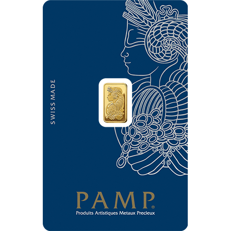 1g Gold Bar | PAMP Fortuna