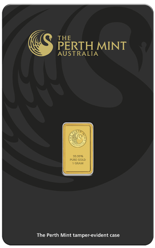 1g Gold Bar | Perth Mint