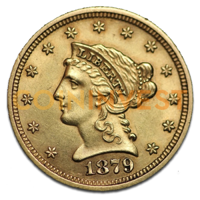 "2.5 Dólar Quarter Eagle ""Liberty Head"" 