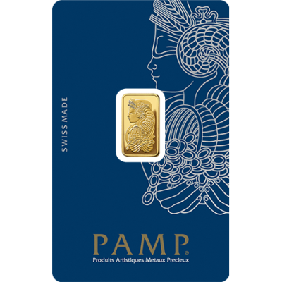 2,5g Goldbarren | PAMP Fortuna