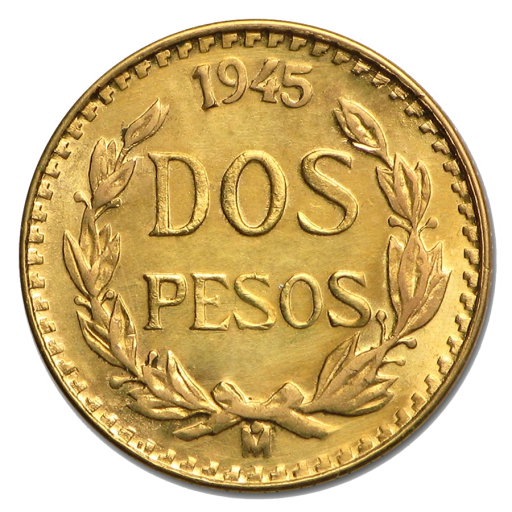 2 Pesos Mexicains Hidalgo | Or | 1919-1948