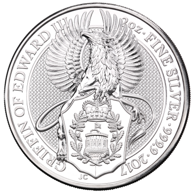 2 oz Queen's Beasts Griffin | Silver | 2017