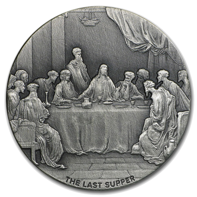 2 oz The Last Supper | Silver | 2016