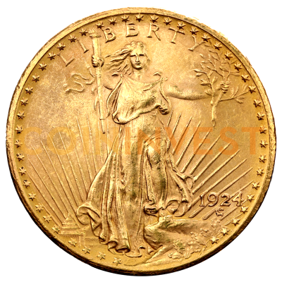 "20 Dollar Double Eagle ""Saint-Gaudens"" 