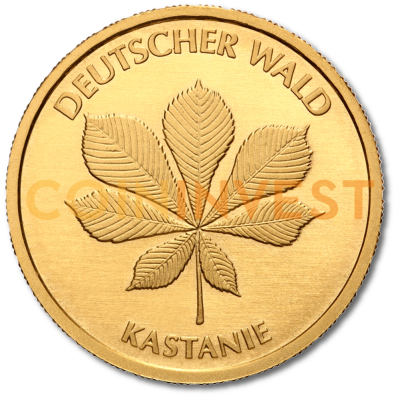 20 Euro German Forest Chestnut | Gold | 2014 | Mintmark J