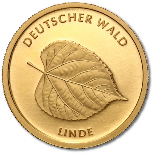 20 Euro German Forest Linden Tree | Gold | 2015 | Mintmark F