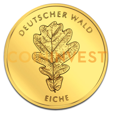 20 Euro German Forest Oak | Gold | 2010