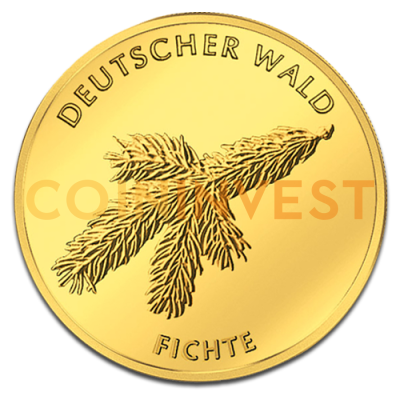 20 Euro German Forest Spruce | Gold | 2012