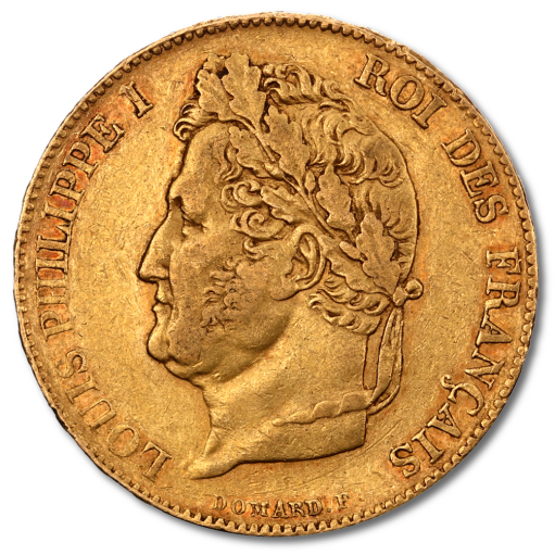 20 Francs Louis Philippe I | Or | 1830-1848