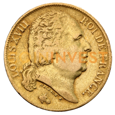 20 Francs Louis XVIII | Or | 1814-1824