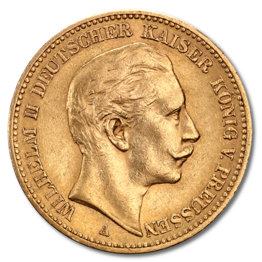 20 Mark Kaiser Wilhelm II Prusse | Or | 1888-1913