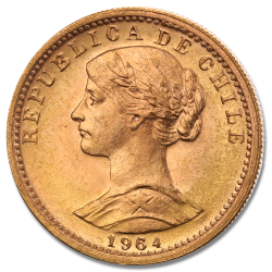 Chilean Peso Gold Coins