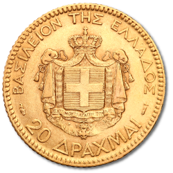 Drachme d'or