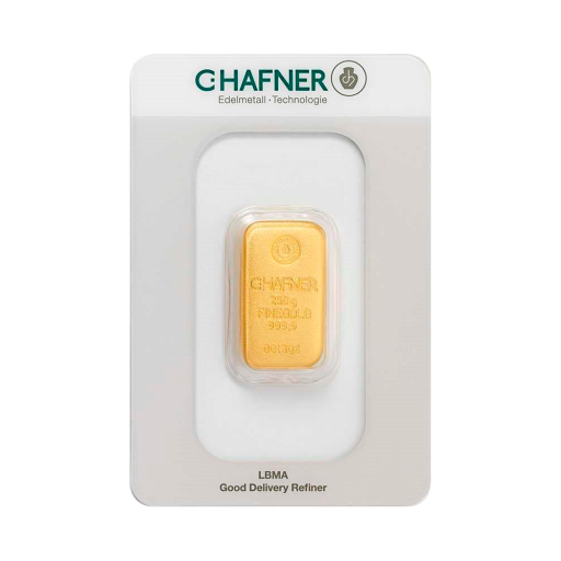 250g Gold Bar | C.Hafner