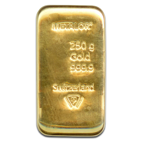250g Goldbarren | Metalor