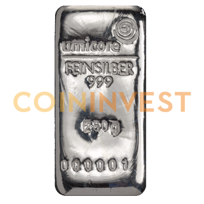 250g Silver Bar | different manufacturers