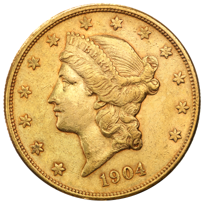 "20 Dollar Doppia Aquila ""Liberty Head"" 