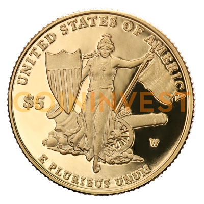 5 Dollar Medal of Honor | Gold | 2011