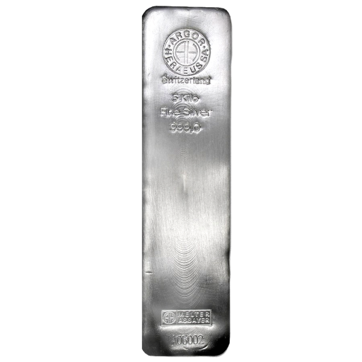 5 Kilo Silver Bar | different manufacturers