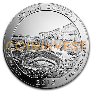 5 oz America the Beautiful - Chaco Culture Natural Park | Argento | 2012