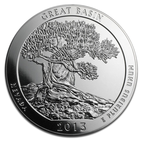 5 oz America the Beautiful - Great Basin National Park, Nevada | Silver | 2013