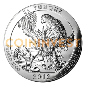 5 oz El Yunque National Forest, Puerto Rico | Silver | 2012