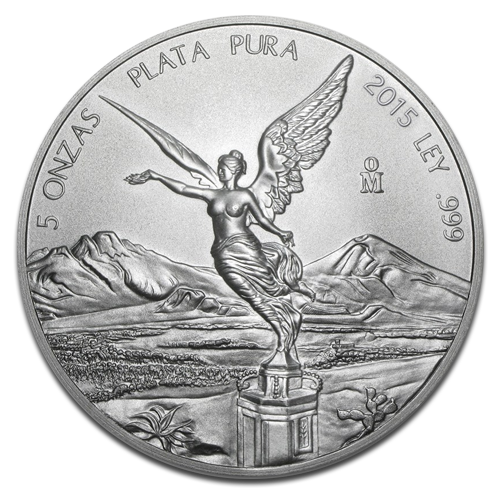 5 oz Mexican Libertad | Silver | mixed years