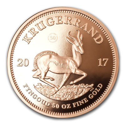 50 oz 50 Years of Krugerrand | Gold | 2017