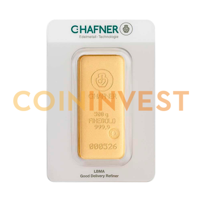 500g Gold Bar | C.Hafner
