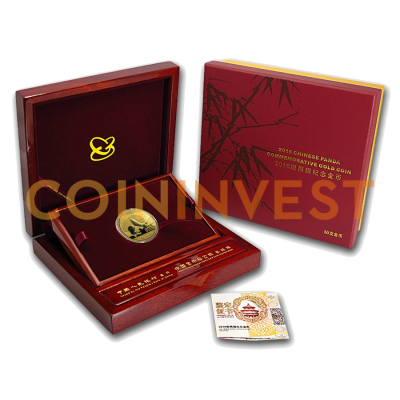 50g China Panda | Gold | Proof | 2016