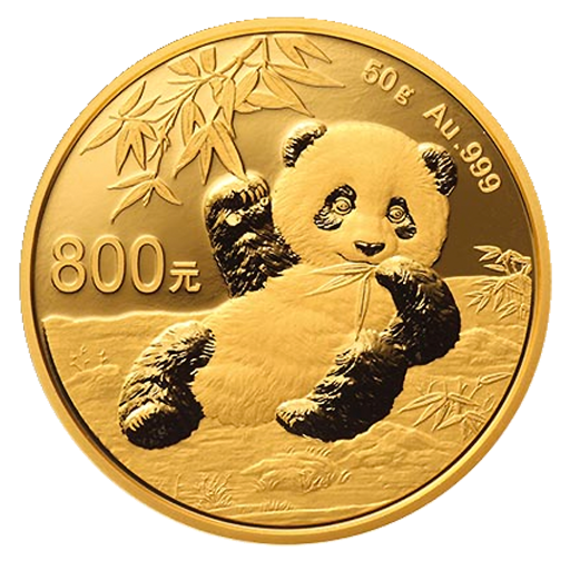 50g Panda China | Oro | Proof | 2020