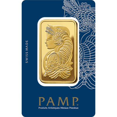 50g Goldbarren | PAMP Fortuna