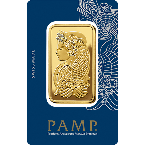 50g Gold Bar | PAMP Fortuna