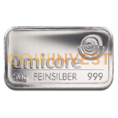 50g Silver Bar | different manufacturers
