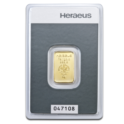 5g Gold Bar | Heraeus